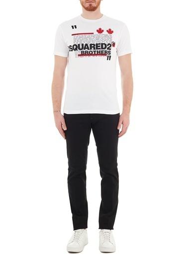 Dsquared2  Slim Fit Cepli Pamuklu Jeans Erkek Kot Pantolon S74Lb0936 S39781 900 Siyah